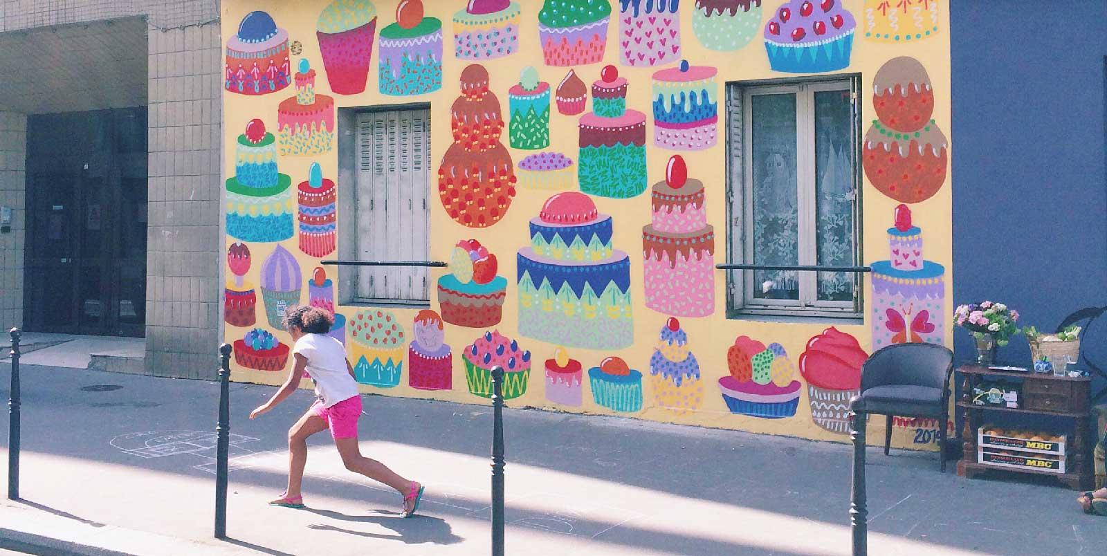 kashink gateaux street art