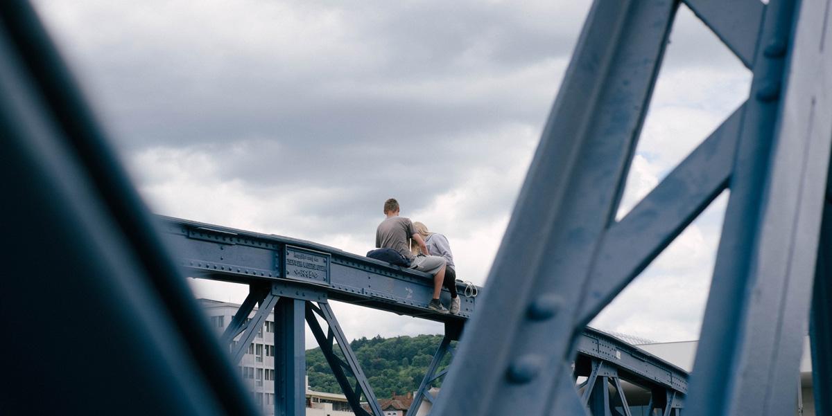 pont bleu freiburg