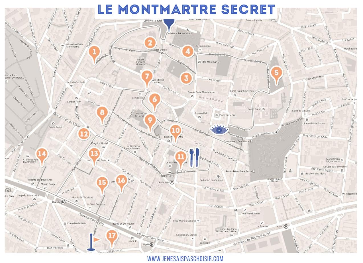 promenade parisienne l autre montmartre sans les touristes je ne sais pas choisir. Black Bedroom Furniture Sets. Home Design Ideas