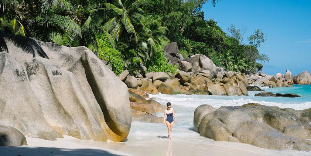 En solo aux Seychelles