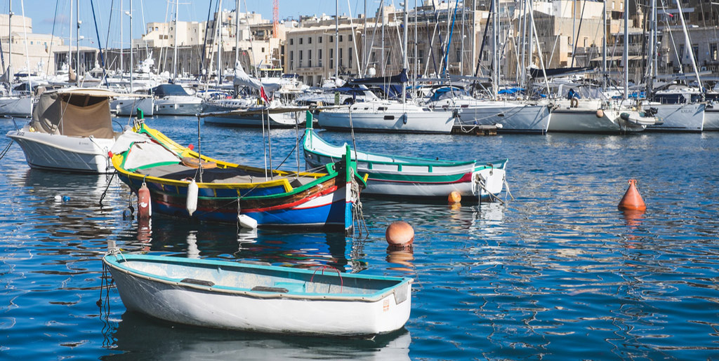 Escapade maltaise : de l'ocre et du bleu