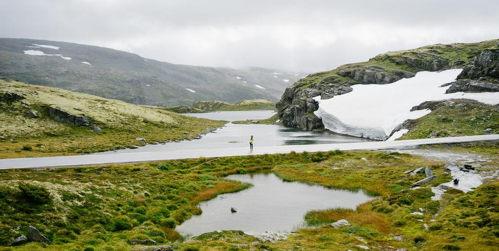 route de la neige en norvège