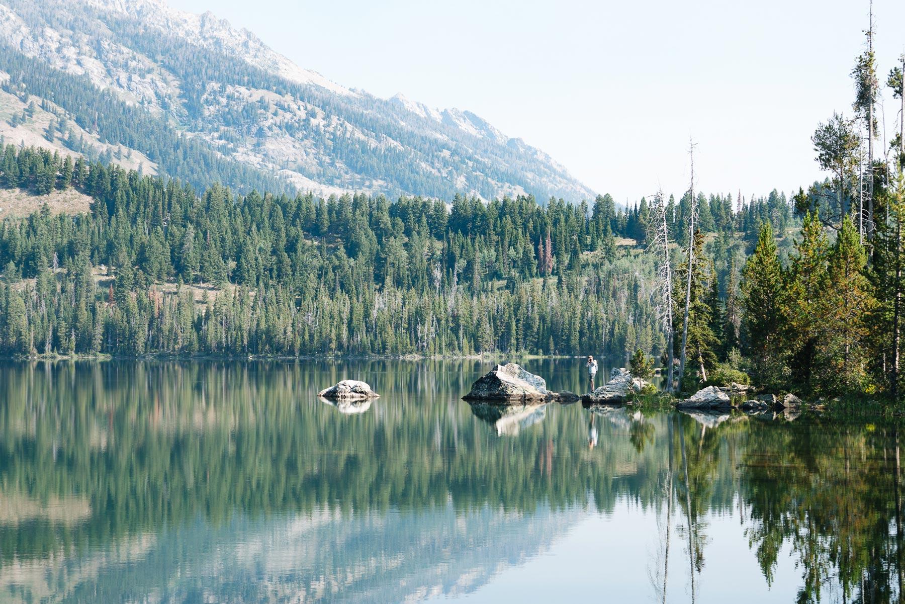 Taggart Lake Grand Teton