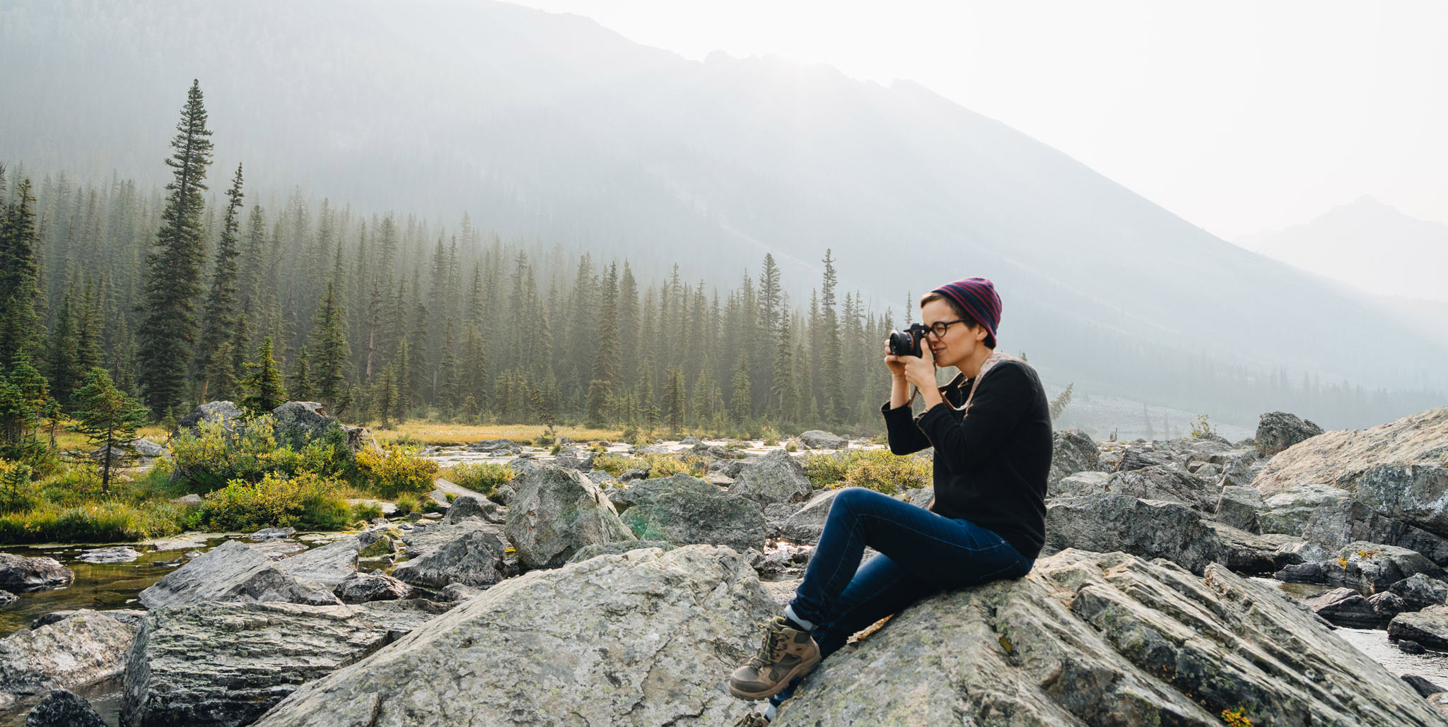 Road-trip au Canada – rendez-vous manqué avec Banff
