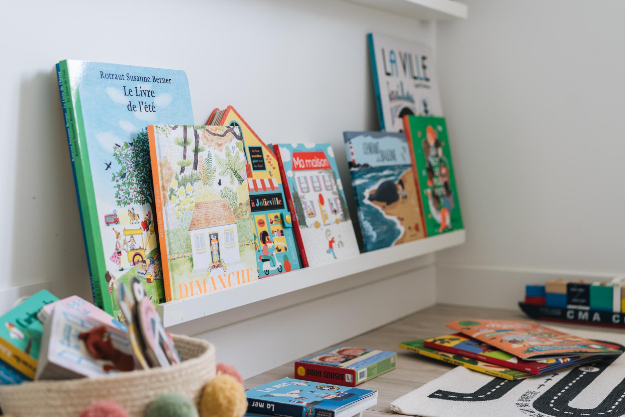 Les livres préférés de Louison, deux ans et demi